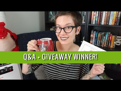 Giant Q&A + Giveaway Winner | Sept 27, 2017