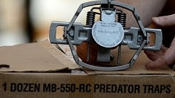 Best Predator/Coyote Trap - MB 550 Trap Review
