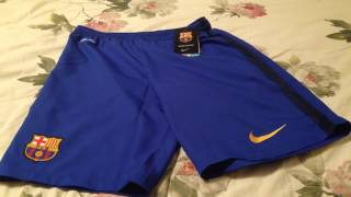 15/16 fc barcelona away shorts review