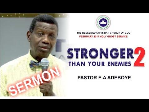 Pastor E.A Adeboye Sermon @ RCCG February 2018 HOLY GHOST SERVICE