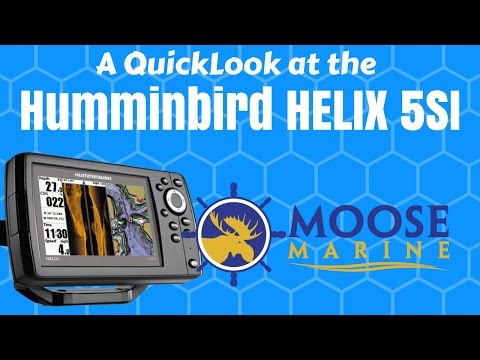 how to set up a humminbird helix 7