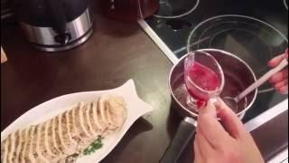Соус для мяса из красной смородины
