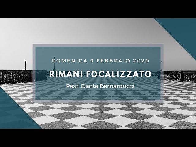 Domenica 9 Febbraio 2020