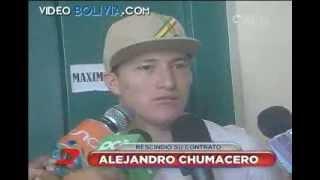 Alejandro Chumacero de regreso