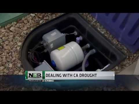 In-home water recycling system