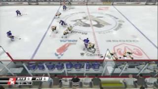 NHL 2K8 (PS3) PITTSBURGH PENGUINS 01 vs NEW YORK RANGERS 97