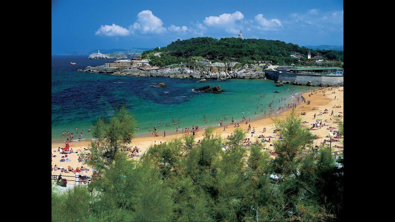 fotos playas santander espana