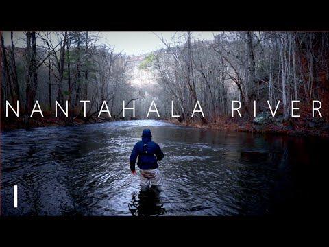 Fly Fishing NC   The Nantahala River (Part 1)
