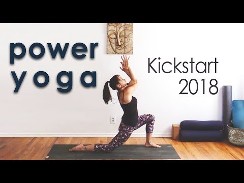 Power Yoga Flow ~ Wring Out the Old, Ring in the New