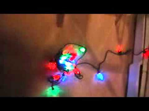 testing the led christmas lights - Led Christmas Light Tester