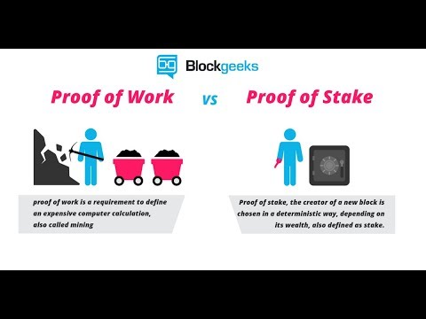 Proof of Work vs Proof of Stake: The Difference