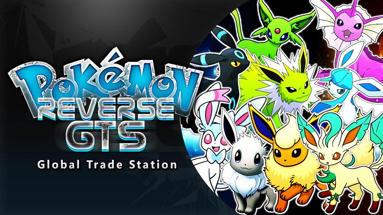Reverse GTS SUNDAY: SHINY EEVEELUTIONS!! (Pokemon Live Stream - Reverse GTS)