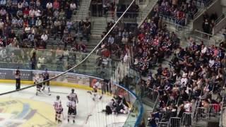 Mannheim - Kölner Haie | Dane Byers vs. Matthias Plachta | Schlägerei / Fight