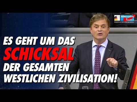 Es geht um das Schicksal der gesamten westlichen Zivilisation! - Bernd Baumann  - AfD-Fraktion