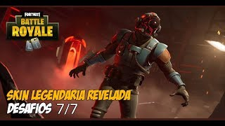 Fortnite: Legendary skin of revealed challenges and changes in Carbide.
