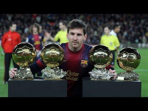 FIFA Ballon d'or 2015 Live Video (Lionel Messi Winner )
