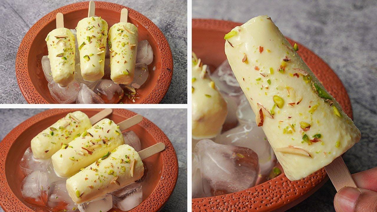 Download 2 Ingredient Kulfi Recipe | Easy Homemade Malai Kulfi Recipe | Yummy