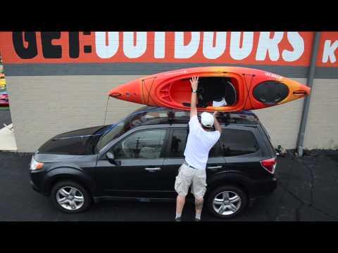 kayak-cartopping:-using-a-basic-rack-or-foam-blocks