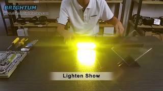 Cover images BrightumLedLight - 18w car motorcycle LED light bar 3D 4D 5D