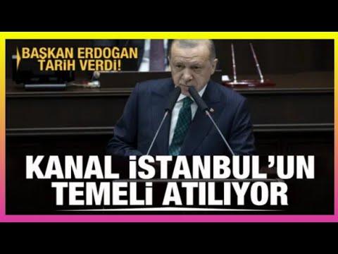 Kanal İstanbul'un temeli atılıyor! Başkan Erdoğan tarih verdi