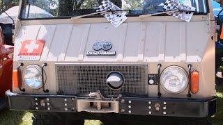 1973 Pinzgauer Swiss Army Transport Vehicle Lakeland 090114