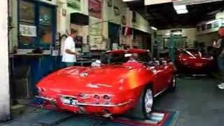 1964 Corvette Convertible Dyno Run