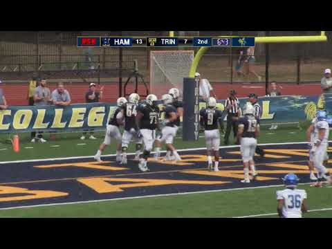 Hamilton College vs. Trinity College Football 10/7/17