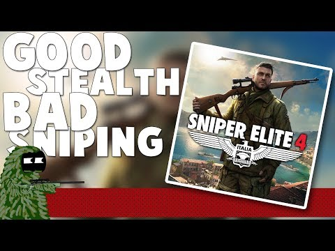 Sniper Elite 4 REVIEW | Good Stealth Game Bad Sniping Game