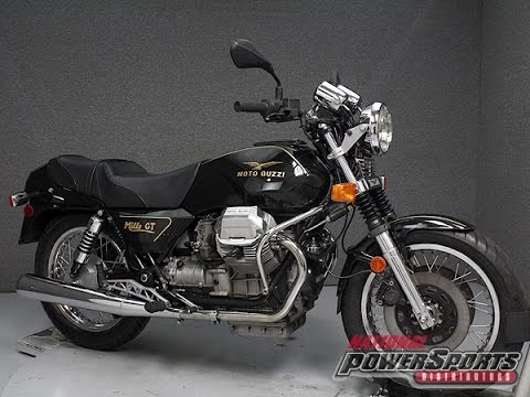 1989 moto guzzi mille gt 1000 national powersports. Black Bedroom Furniture Sets. Home Design Ideas