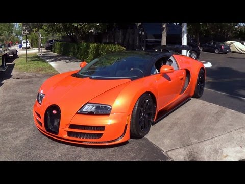 bugatti veyron grand sport vitesse 1200 horsepower supercar start up and drive youtube. Black Bedroom Furniture Sets. Home Design Ideas