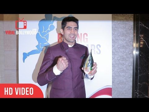 Vijender Singh At TOI Sports Awards 2nd Edition | The Times Of India Awards