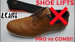 SHOE LIFTS FOR MEN REVIEW - PRO vs CONS