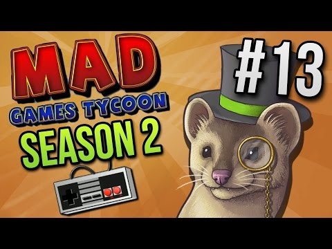 Mad Games Tycoon - MILKING IT - Ep. 13 (Season 2) ★ Let's Play Mad Games Tycoon