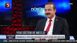 Yavuz Ağıralioğlu | TV5 Ahu Özyurt ile Düşünme Vakti | 3 Aralık 2018