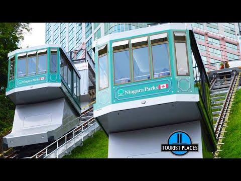 Falls Incline Railway, Niagara Falls, Ontario, Canada, Tourist Places Attractions In Niagara Falls