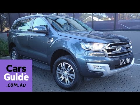 2016 Ford Everest Trend review | Top 5 reasons to buy video