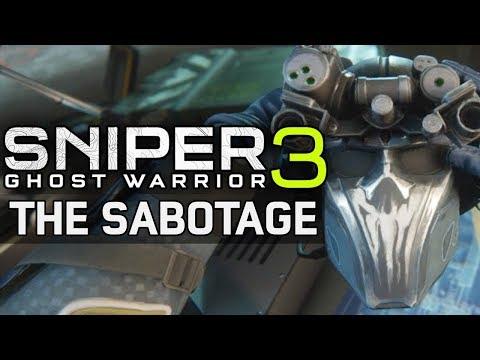 Sniper Ghost Warrior 3 The Sabotage Walkthrough pt3 Dead Air |