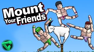 "LA BATALLA ÉPICA ENTRE FERNANFLOO, BERSGAMER Y ITOWNGAMEPLAY - ""Mount Your Friends"""