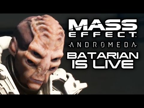 MASS EFFECT ANDROMEDA: Batarians in Andromeda and Future Potential Races!