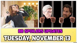BB Daily Spoilers | Updates Tuesday, Nov. 13th | The Bold and The Beautiful Spoilers | 11/13/18