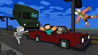Monster School : Save Herobrine from Granny - Minecraft Animation