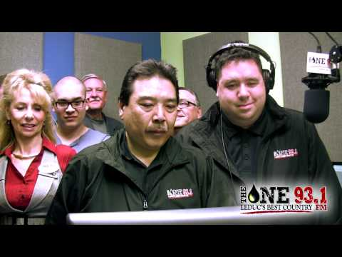 Radio Station Launch - 93.1 The One, Leduc Alberta Canada