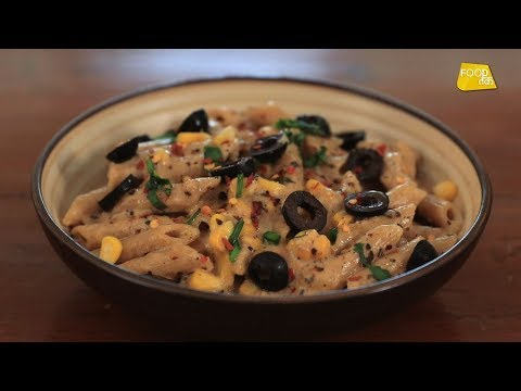 Whole Wheat Pasta | Healthy Pasta Recipe | Papi Pet Ka | Food Tak