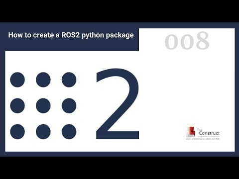 [ROS2 Tutorials] How to Create a ROS2 Package (Python)