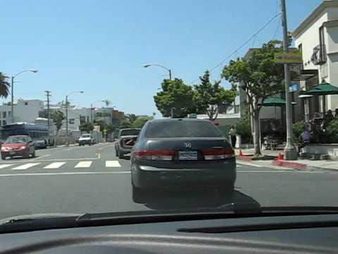 Drive through Santa Monica