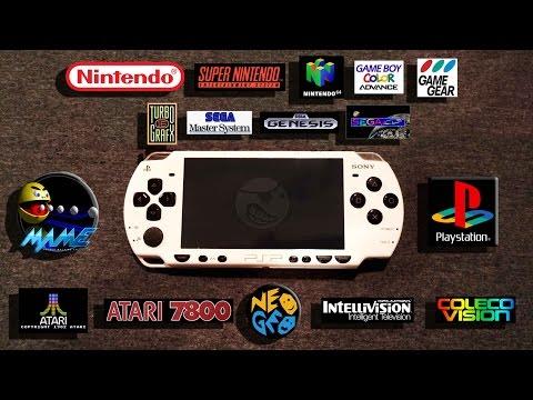 Modded PSP 2000 16gb Retro Game bundle @Ebay