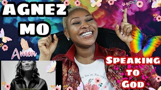 AGNEZ MO worships with Promises (REACTION)