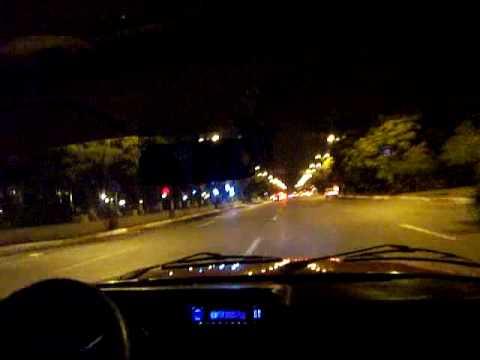 Crazy Taxi. Baku by night.