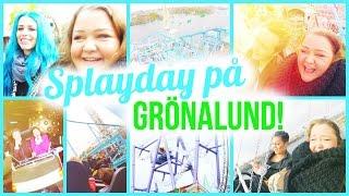 SplayDay på Grönalund | Skratt, gråt & panik! | Åk karusell med mig!