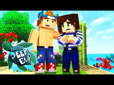 I KILLED STACYS TURTLE  | Minecraft The Deep End SMP #3
